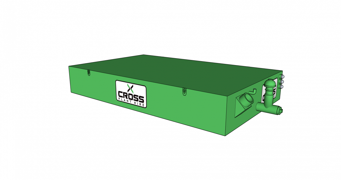 Why Hire a Waste Sewage Holding Tank from Cross Plant Hire?