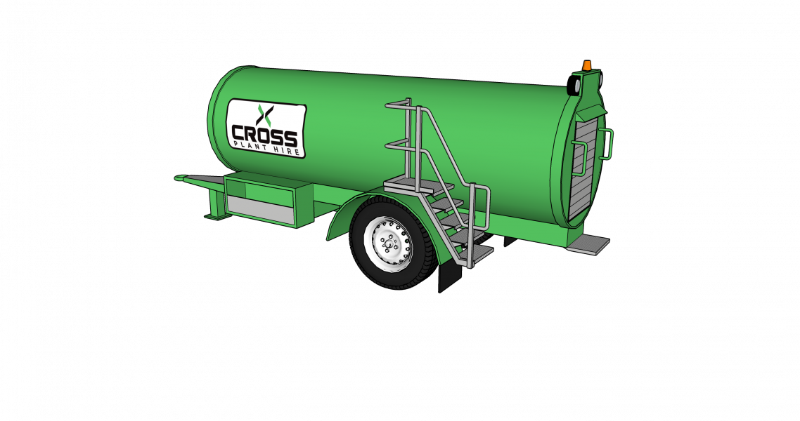 Why Towable Fuel Bowsers Are So Useful for Construction Sites